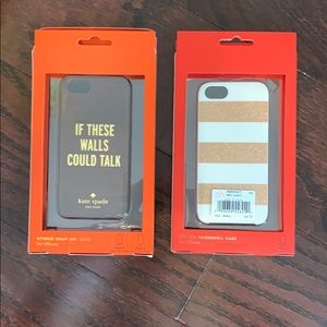 Kate Spade Holiday & Walls Could Talk Phone Case